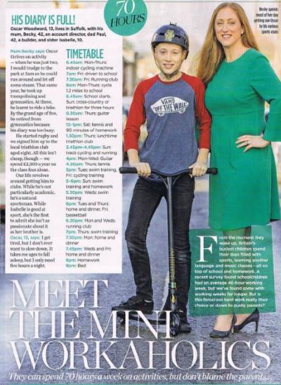 Becky Woman Magazine